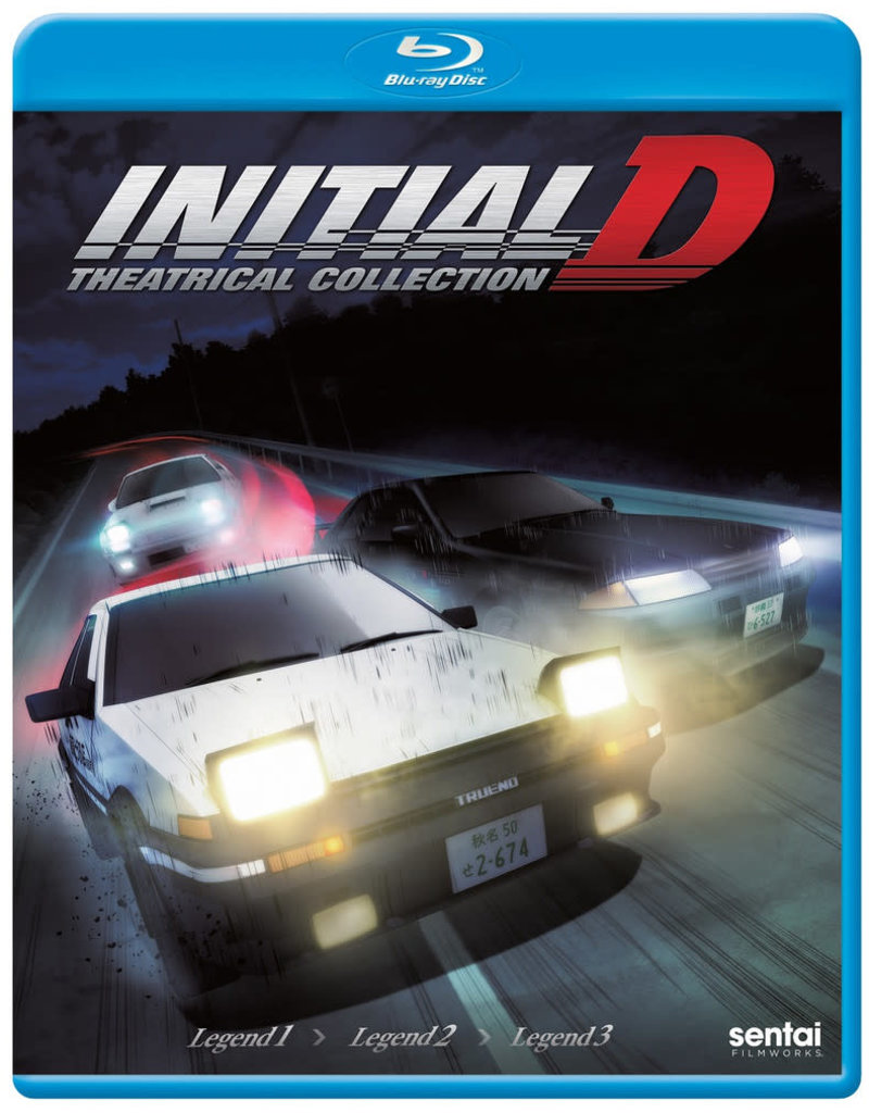 Sentai Filmworks Initial D Legend Theatrical Collection Blu-Ray