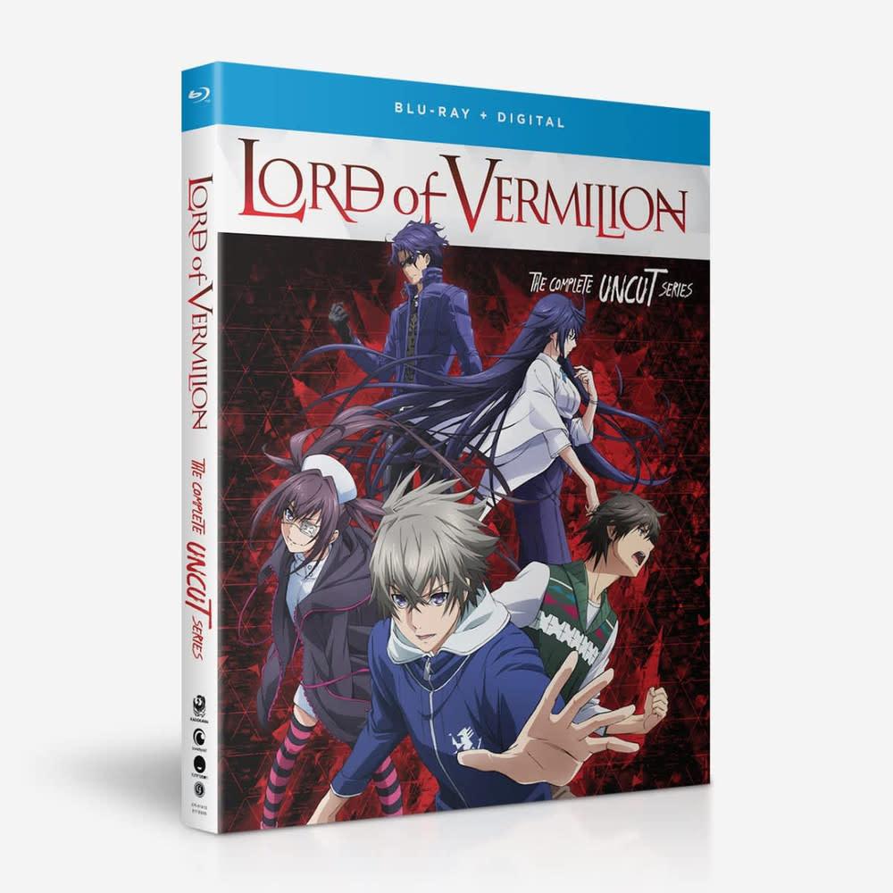 Funimation Entertainment Lord of Vermillion Crimson King Blu-Ray