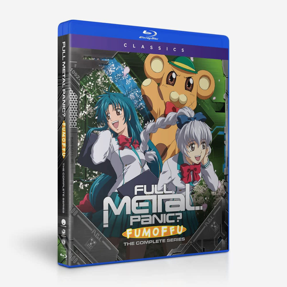 Funimation Entertainment Full Metal Panic? Fumoffu Classics Blu-Ray