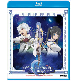 Sentai Filmworks Is It Wrong To Try To Pick Up Girls In A Dungeon? Arrow Of The Orion Movie Blu-Ray