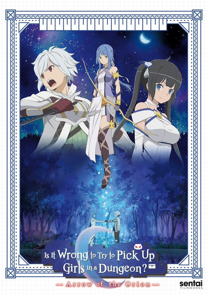 Sentai Filmworks Is It Wrong To Try To Pick Up Girls In A Dungeon? Arrow Of The Orion Movie DVD