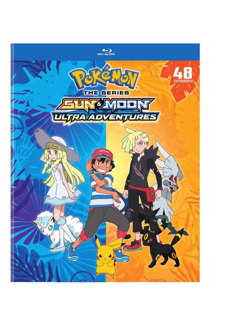 Viz Media Pokemon Sun and Moon Ultra Adventures (Season 21) Blu-Ray