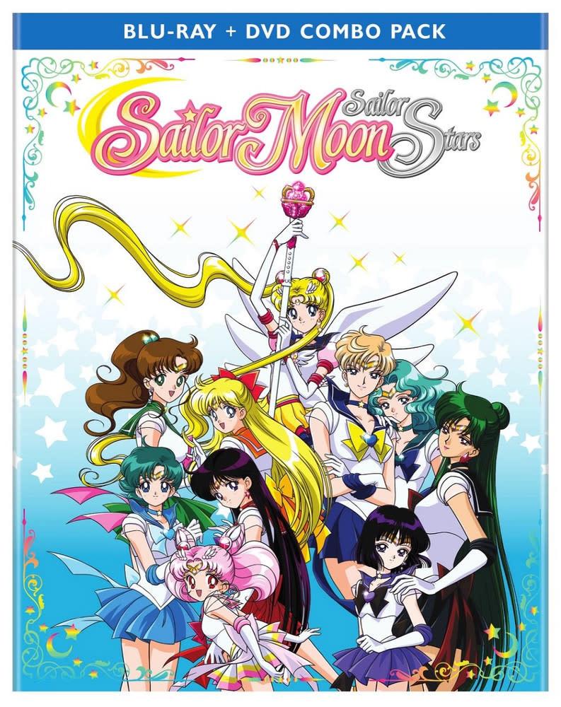Viz Media Sailor Moon Sailor Stars (Season 5) Part 2 Blu-Ray/DVD