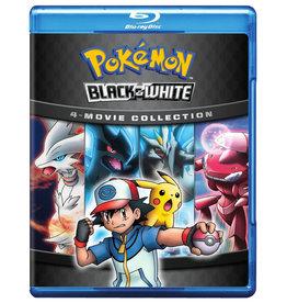 Viz Media Pokemon Black And White Movie 4-Pack Blu-Ray
