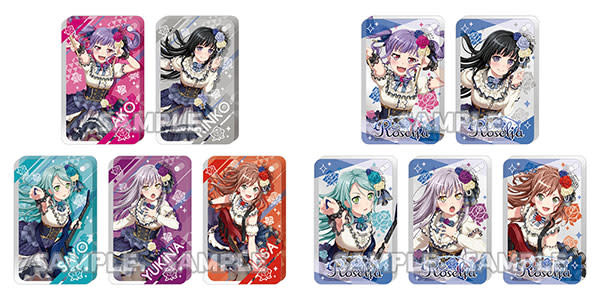 Bushiroad BanG Dream! Girls Band Party! Chararium RICH Acrylic Keychain Roselia