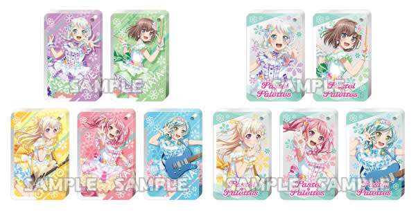 Bushiroad BanG Dream! Girls Band Party! Chararium RICH Acrylic Keychain Pastel Palettes Full Box