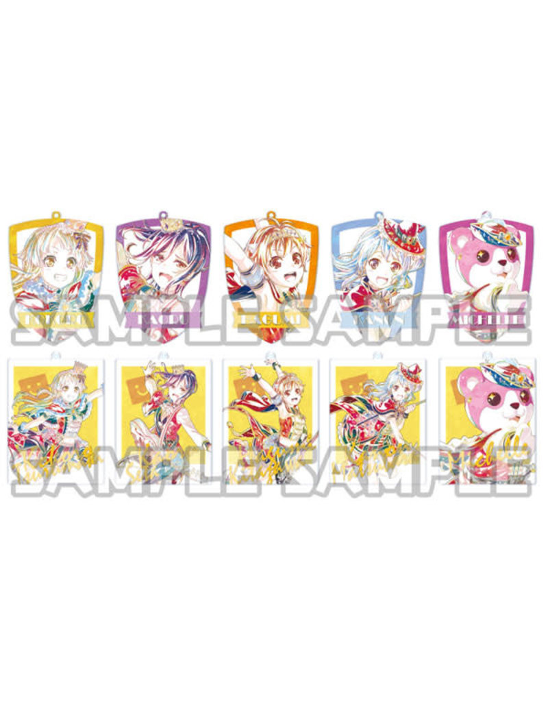 Bushiroad BanG Dream Ani-Art Acrylic Keychain Hello Happy World Vol. 2