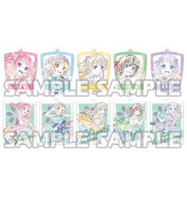 Bushiroad BanG Dream Ani-Art Acrylic Keychain Pastel Palettes Vol. 2 Full Box
