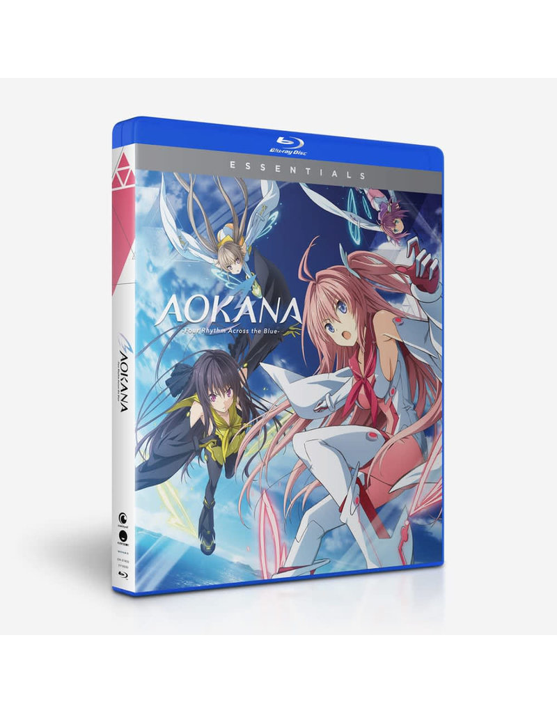 Funimation Entertainment AOKANA Four Rhythm Across The Blue Essentials Blu-Ray