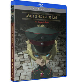 Funimation Entertainment Saga Of Tanya The Evil Essentials Blu-Ray