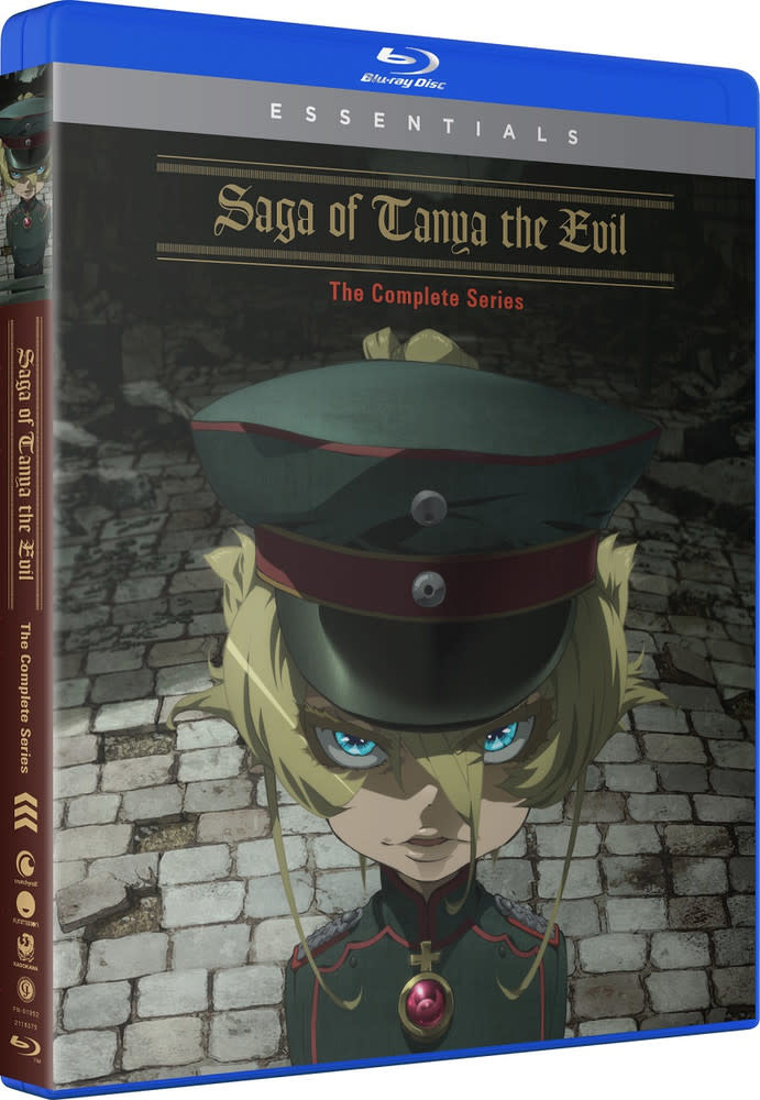 Funimation Entertainment Saga Of Tanya The Evil Essentials Blu-Ray