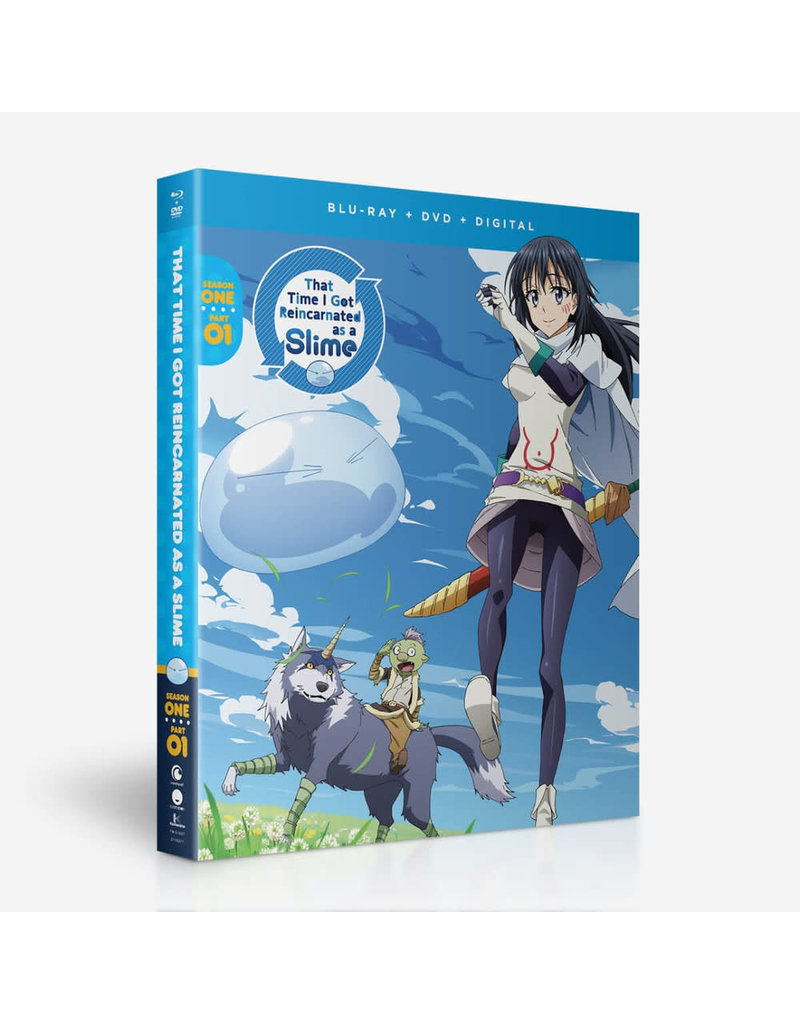 Funimation Entertainment That Time I Got Reincarnated As A Slime Season 1 Part 1 Blu-Ray/DVD