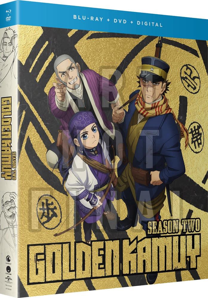 Funimation Entertainment Golden Kamuy Season 2 Blu-Ray/DVD