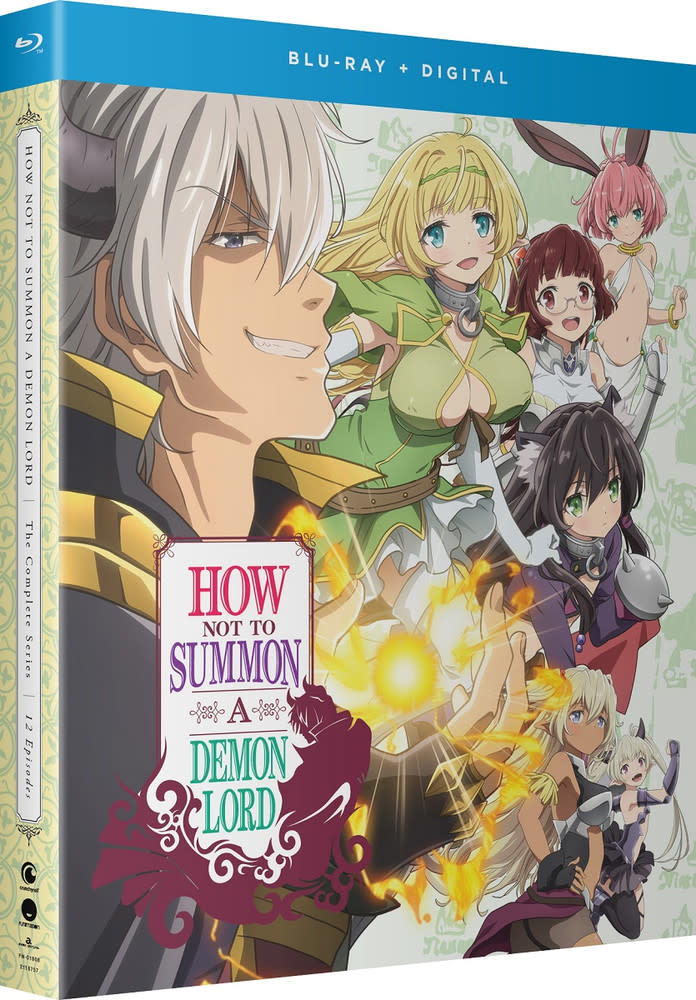 Funimation Entertainment How NOT To Summon A Demon Lord Blu-Ray/DVD