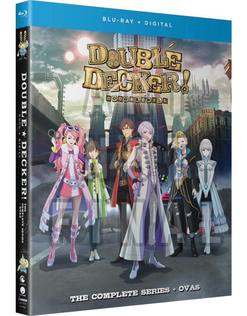 Funimation Entertainment Double Decker! Doug & Kirill Blu-Ray + OVA