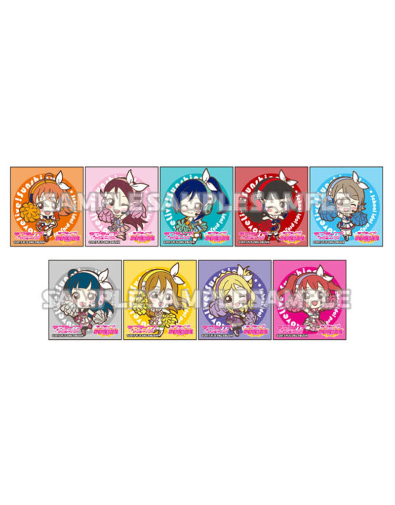 Bushiroad Love Live! Sunshine!! Trading Clear Stamp Vol.1