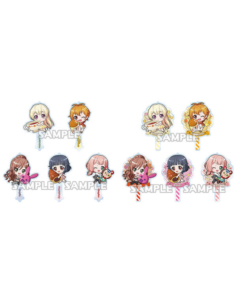 Bushiroad BanG Dream! Chara Props Acrylic Strap Bass Collection