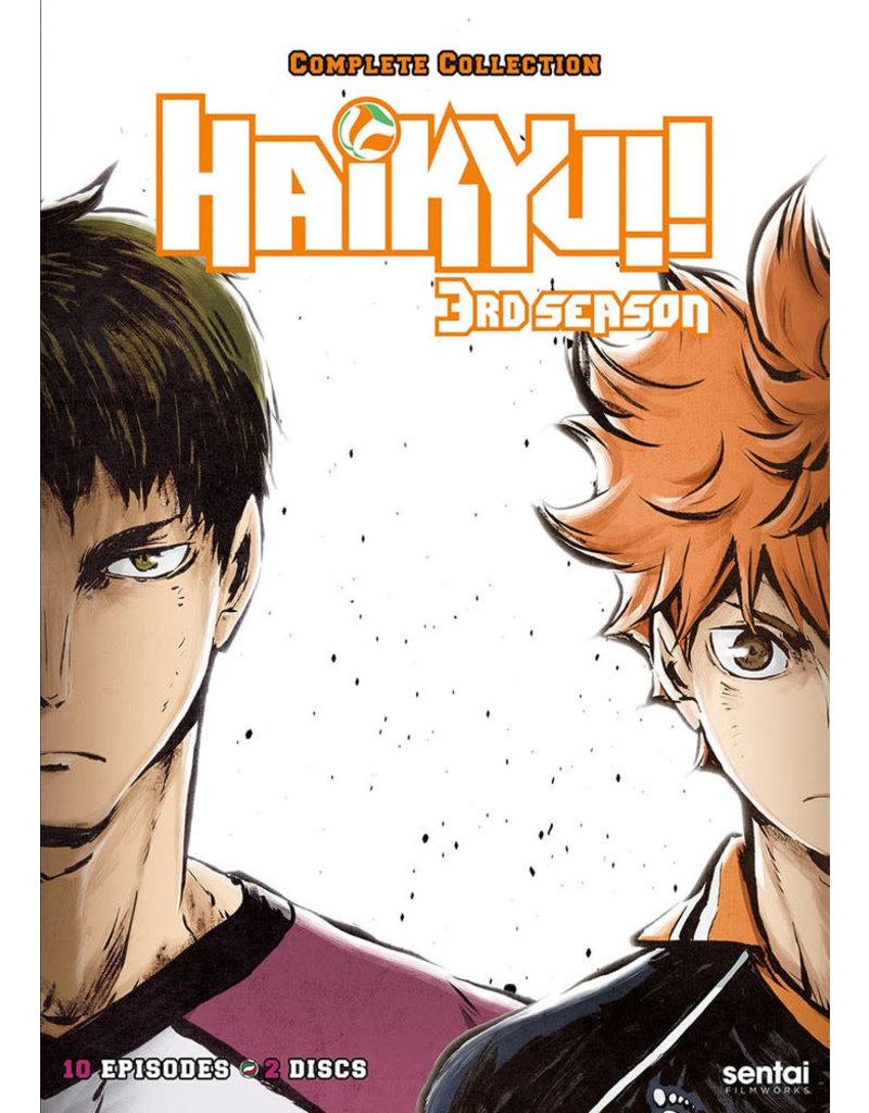 Sentai Filmworks Haikyu!! Complete Season 3 DVD
