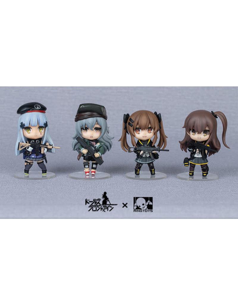 Girls Frontline 404 Team Figurines RingToy