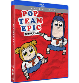 Funimation Entertainment Pop Team Epic Season 1 Essentials Blu-Ray
