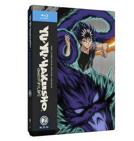 Funimation Entertainment Yu Yu Hakusho Season 2 Steelbook Blu-Ray