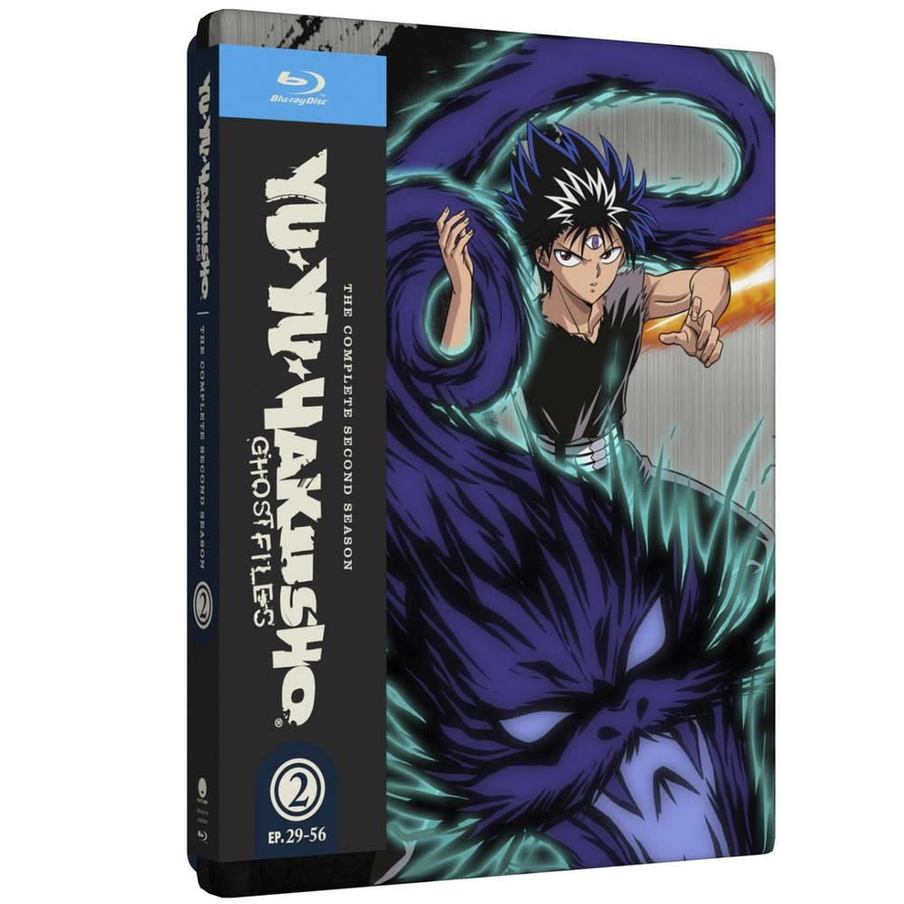 Funimation Entertainment Yu Yu Hakusho Season 2 Steelbook Blu-Ray