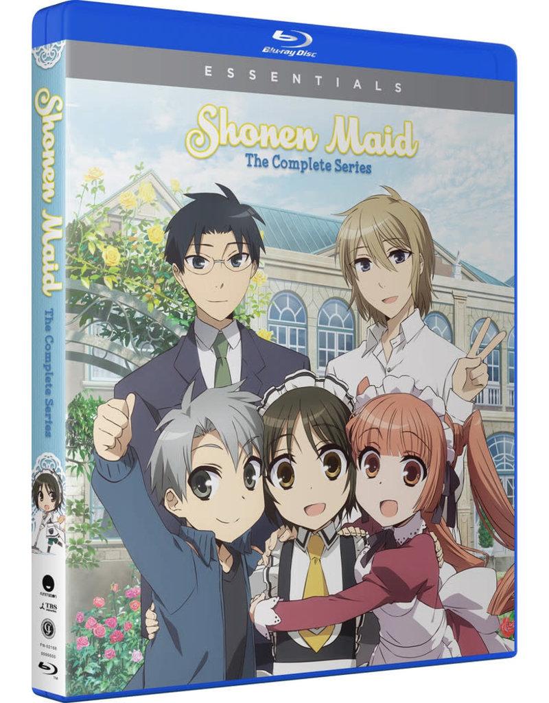 Funimation Entertainment Shonen Maid Essentials Blu-Ray