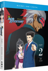 Funimation Entertainment Ace Attorney Season 2 Part 2 Blu-Ray/DVD