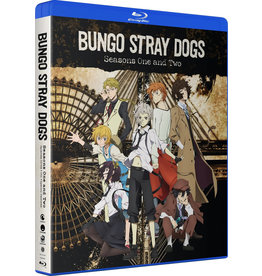Funimation Entertainment Bungo Stray Dogs Seasons 1 and 2 Blu-Ray
