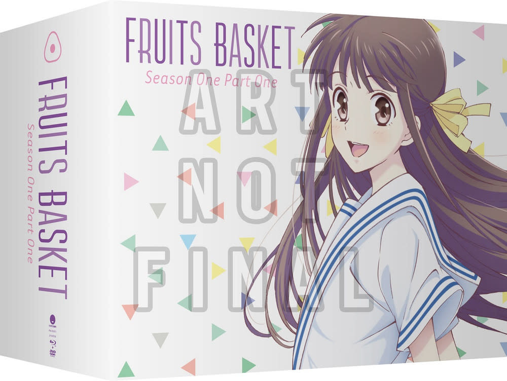 Funimation Entertainment Fruits Basket (2019) Season 1 Part 1 Limited Edition