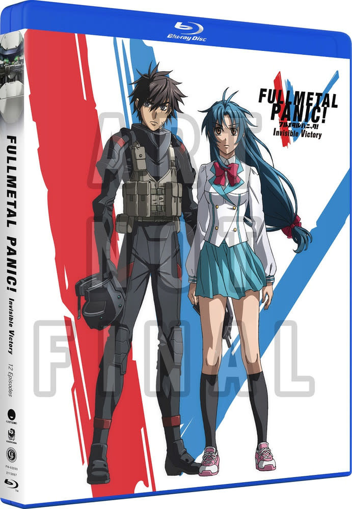 Funimation Entertainment Full Metal Panic! Invisible Victory Blu-Ray