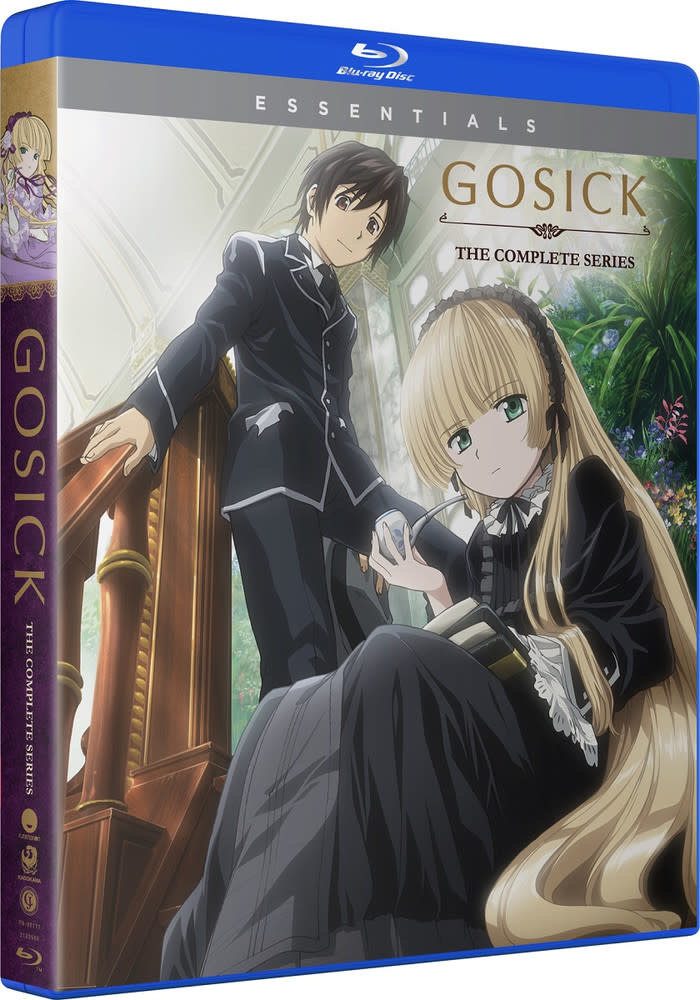 Funimation Entertainment Gosick Complete Series Essentials Blu-Ray