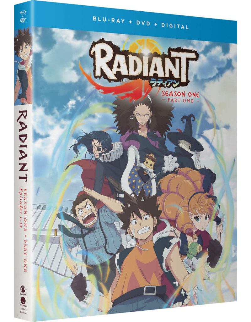 Funimation Entertainment Radiant Season 1 Part 1 Blu-Ray/DVD