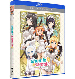 Funimation Entertainment Shomin Sample Essentials Blu-Ray