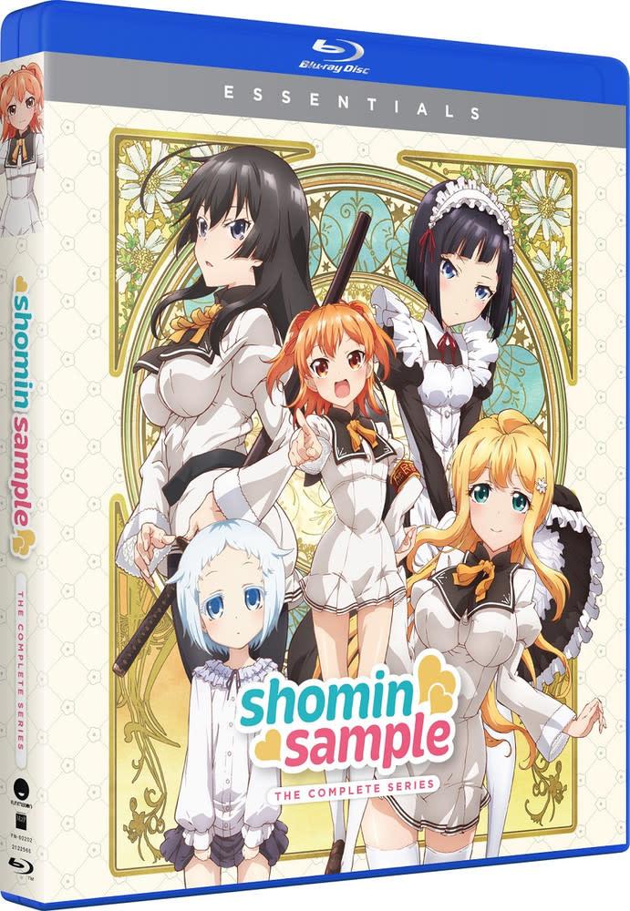 Funimation Entertainment Shomin Sample Essentials Blu-Ray
