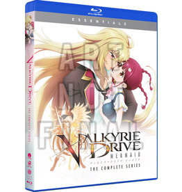 Funimation Entertainment Valkyrie Drive Mermaid Essentials Blu-Ray