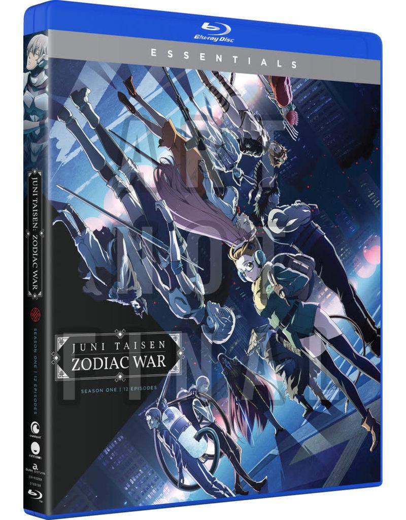 Funimation Entertainment Juni Taisen Zodiac War Season 1 Essentials Blu-Ray