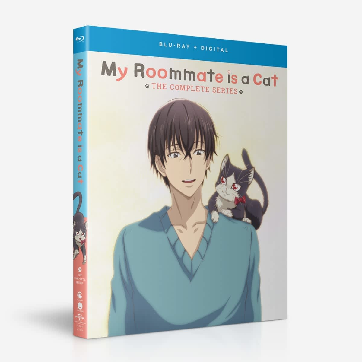 Funimation Entertainment My Roommate Is A Cat Blu-Ray