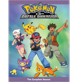 Viz Media Pokemon Diamond And Pearl Battle Dimension (Season 11) DVD