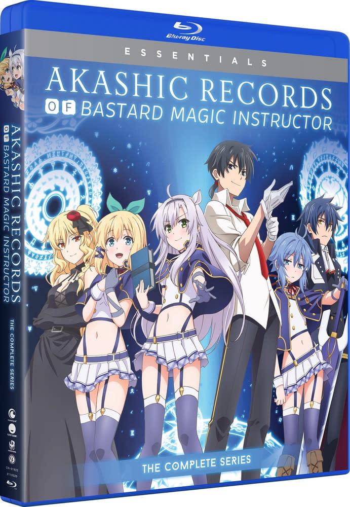Funimation Entertainment Akashic Records Of Bastard Magic Instructor Essentials Blu-Ray