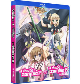 Funimation Entertainment Is This A Zombie? Complete Series Blu-Ray/DVD