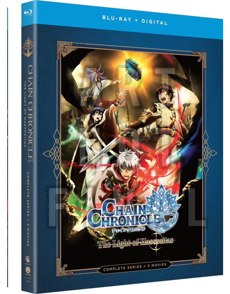 Funimation Entertainment Chain Chronicle The Light Of Haecceitas Blu-Ray