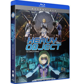 Funimation Entertainment Heavy Object Complete Series Essentials Blu-Ray