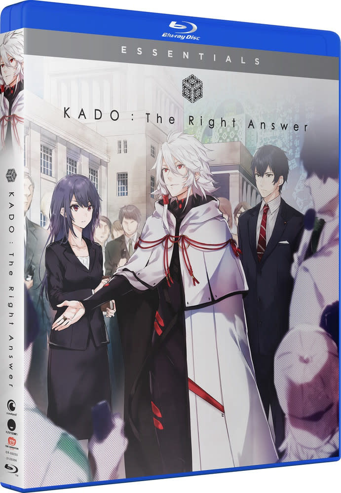 Funimation Entertainment KADO The Right Answer Essentials Blu-Ray