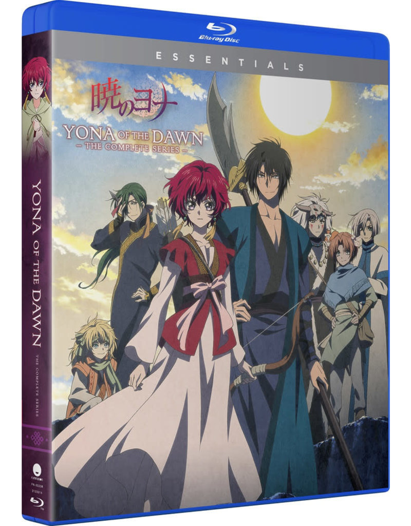 Funimation Entertainment Yona Of The Dawn Complete Series Essentials Blu-Ray