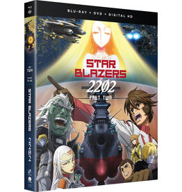 Funimation Entertainment Star Blazers Space Battleship Yamato 2202 Part 2 Blu-Ray/DVD
