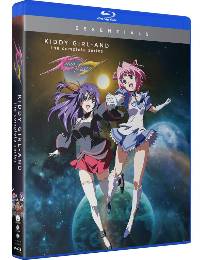 Funimation Entertainment Kiddy Girl -and- Essentials Blu-Ray