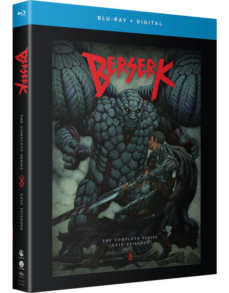 Funimation Entertainment Berserk (2016) Complete Series Blu-Ray