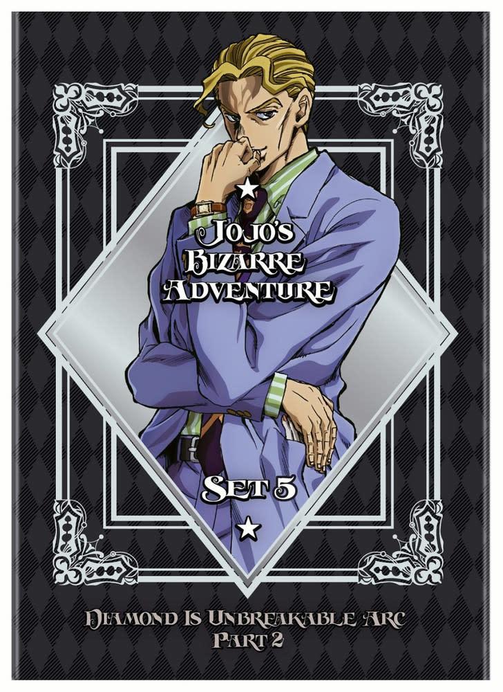 Viz Media Jojo's Bizarre Adventure Season 5 DVD