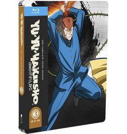Funimation Entertainment Yu Yu Hakusho Season 3 Steelbook Blu-Ray